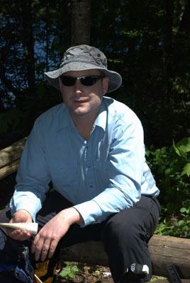 Botanist Scott Milburn