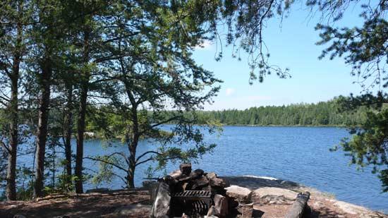 View on Grandpa Lake.