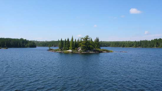 View of Grandpa Lake.
