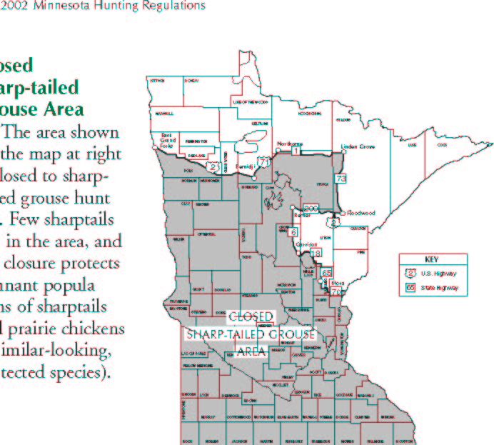 Deer Hunting Zone Map Mn