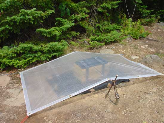 A solar powered plant press drier created by Michael Lee.