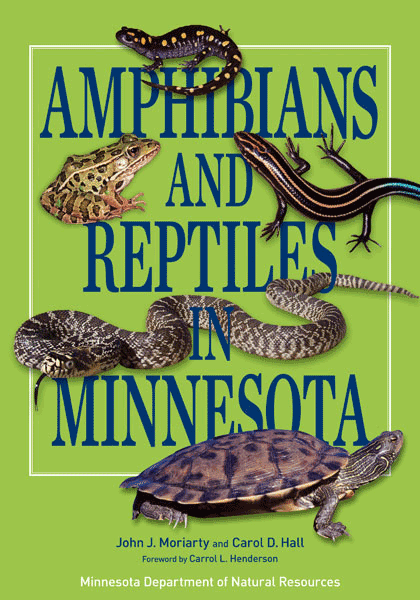 cover of new publication Amphibians and Reptiles in Minnesota
